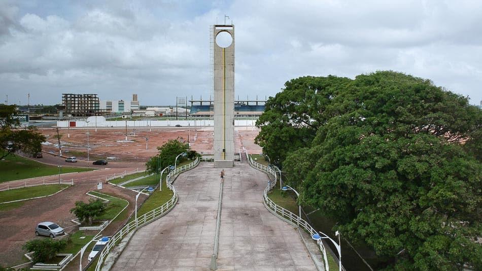 Monumento do Marco Zero do Equador em Macapá