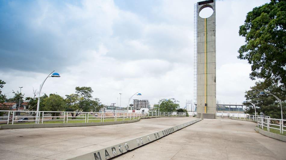Marco Zero do Equador em Macapá, Amapá