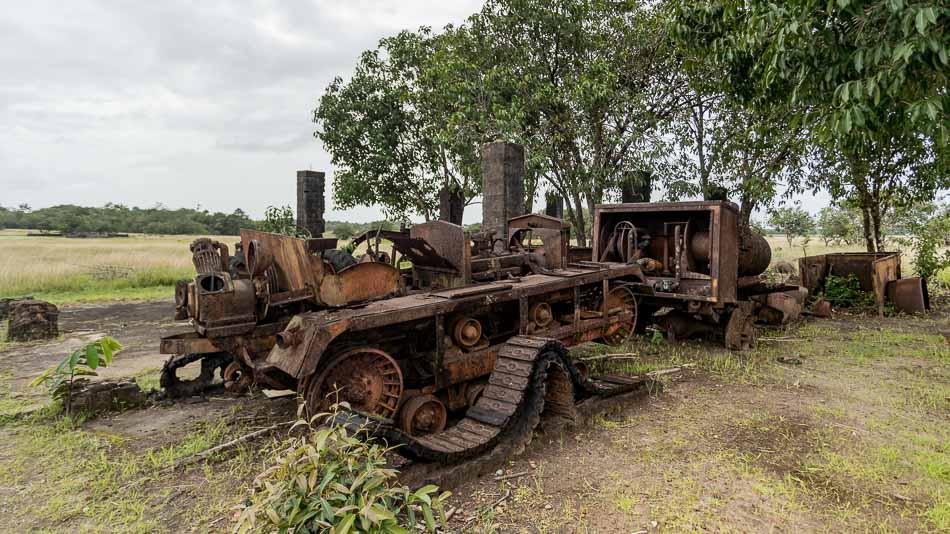 Antigos equipamentos na Base Aérea do Amapá