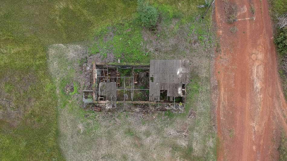 Imagem aérea da Casa de Máquinas da Base Aérea do Amapá