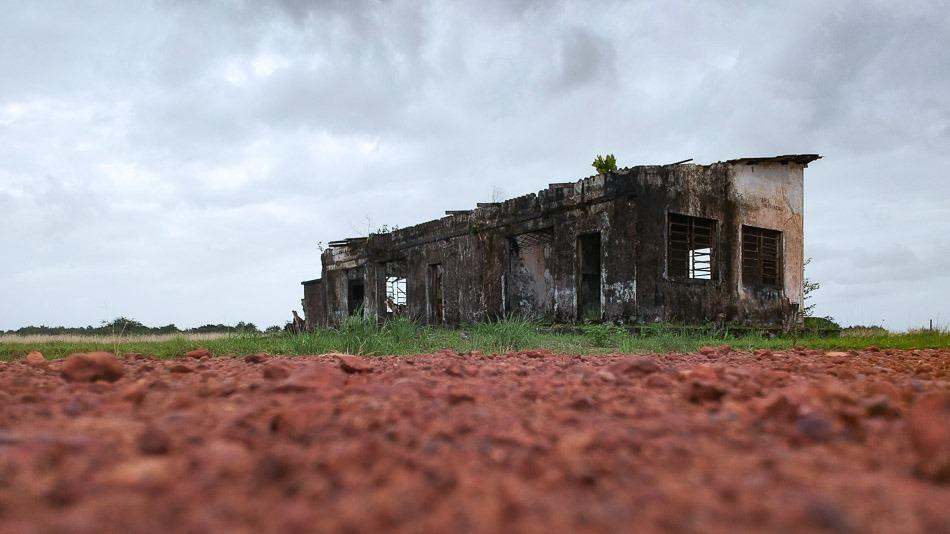 Antiga casa de máquinas da Base Aérea do Amapá