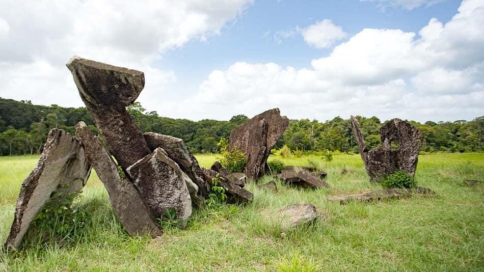 Pedras no Stonehenge do Amapá