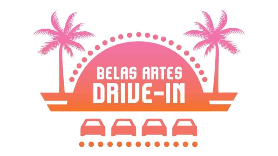 Belas Artes Drive-In no Memorial da América Latina em SP