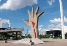 Cinema Drive in no Memorial da América Latina em SP