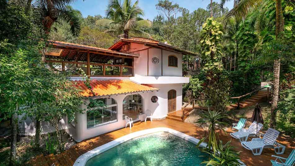 Airbnb no litoral norte de SP: casa para alugar em Ilhabela