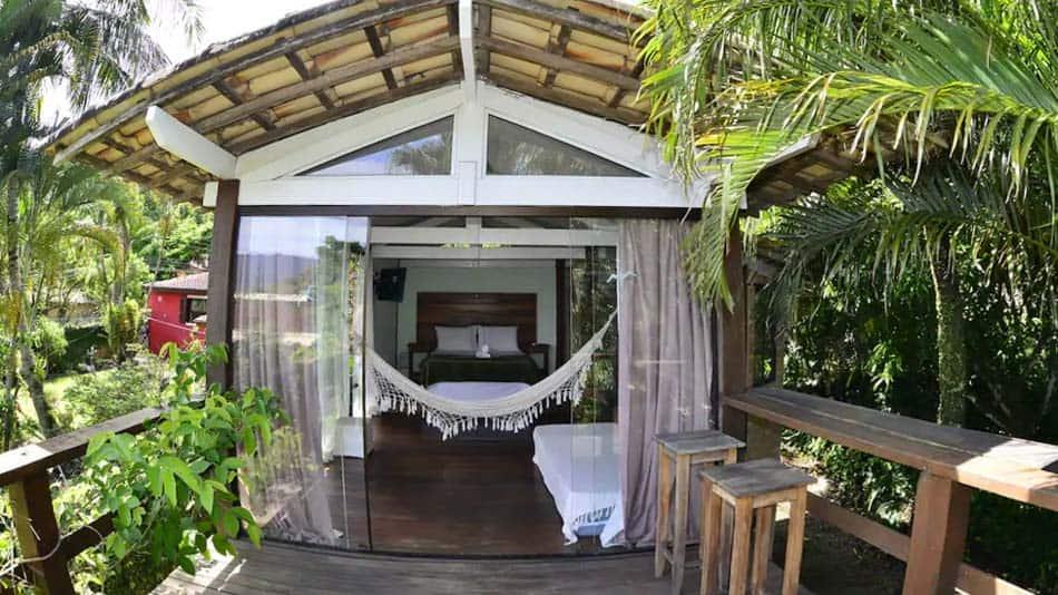 Chalé para alugar em Ilhabela, litoral norte de SP