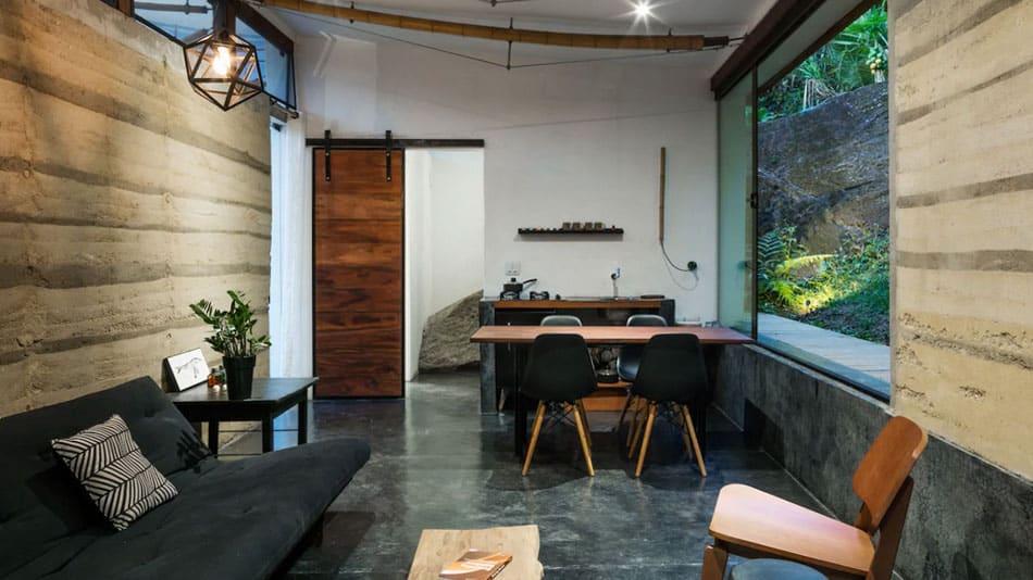 Casa para alugar no Airbnb na praia de Picinguaba
