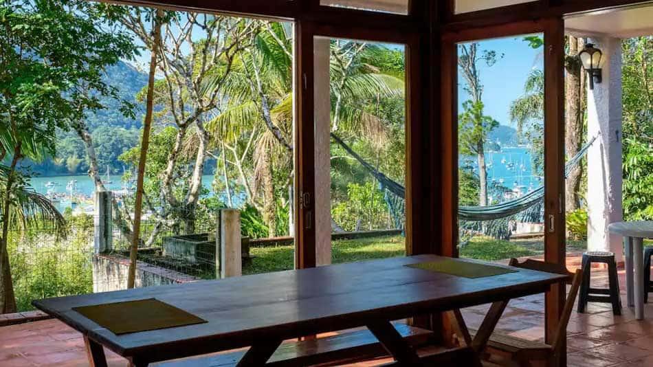 Casa para alugar no Airbnb no litoral norte de SP