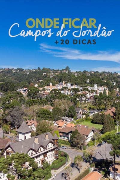 As melhores dicas de onde ficar em Campos do Jordão. Lista com mais de 20 hotéis, pousadas e apartamentos/casas de temporada na cidade.