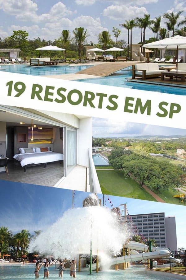 Neste guia você encontra 19 opções incríveis de resort em SP para aquela viagem tão sonhada. Tem resorts no interior e também no litoral de São Paulo.