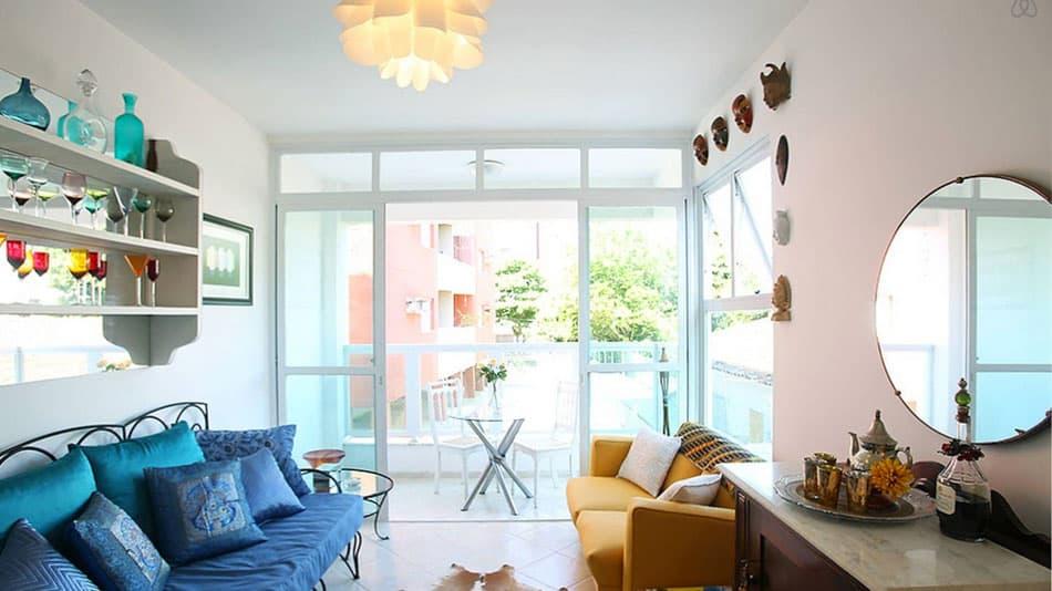 Airbnb no Guarujá: apartamento perto da Praia de Tortugas