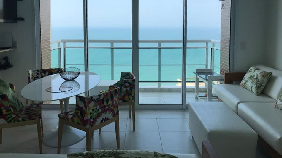 Airbnb no Guarujá: apartamento com vista maravilhosa
