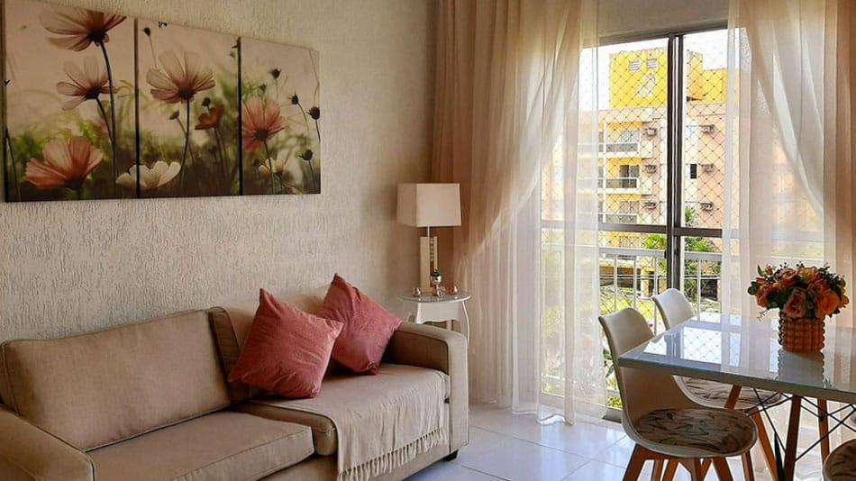 Airbnb no Guarujá: apartamento na Praia da Enseada