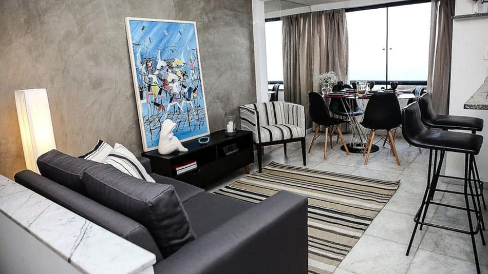 Apartamento no Rio Vermelho para alugar no Airbnb em Salvador