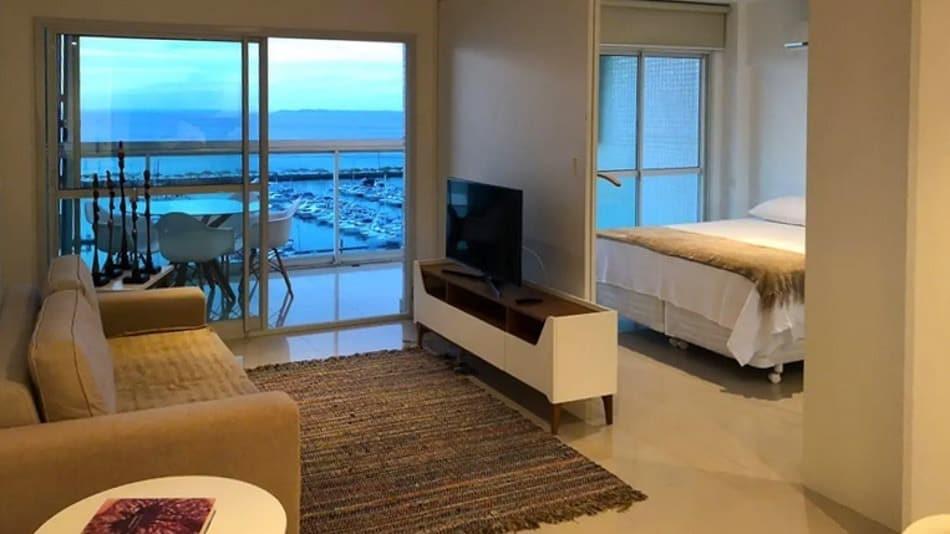 Dica de apartamento com vista para alugar no Airbnb em Salvador
