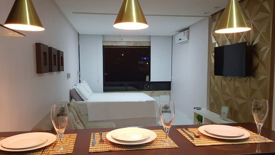 Flat para aluguel no Airbnb em Salvador