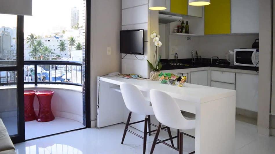 Airbnb em Salvador: flat em Ondina
