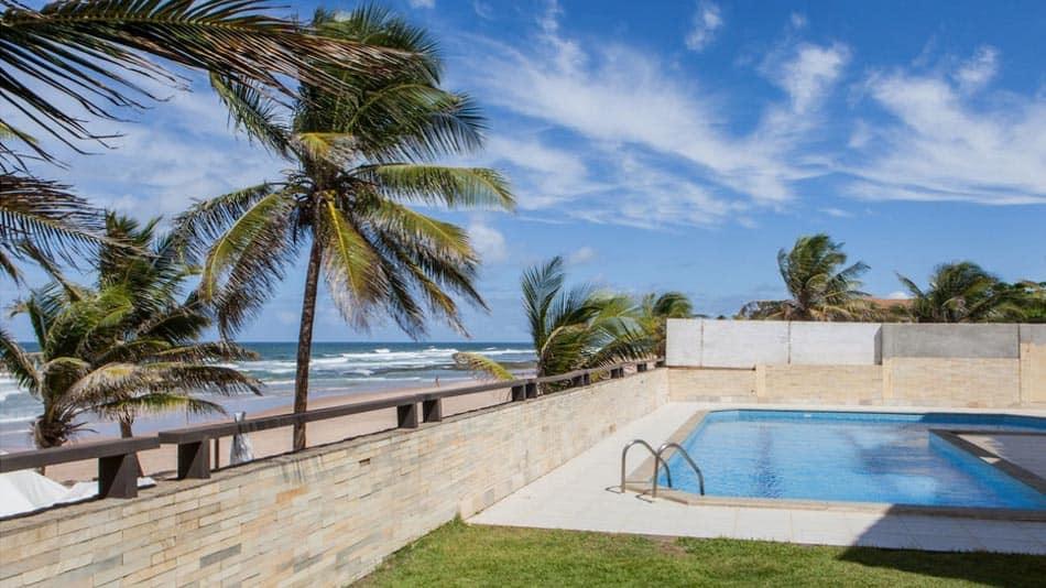 Casa na beira da praia para alugar no Airbnb em Salvador