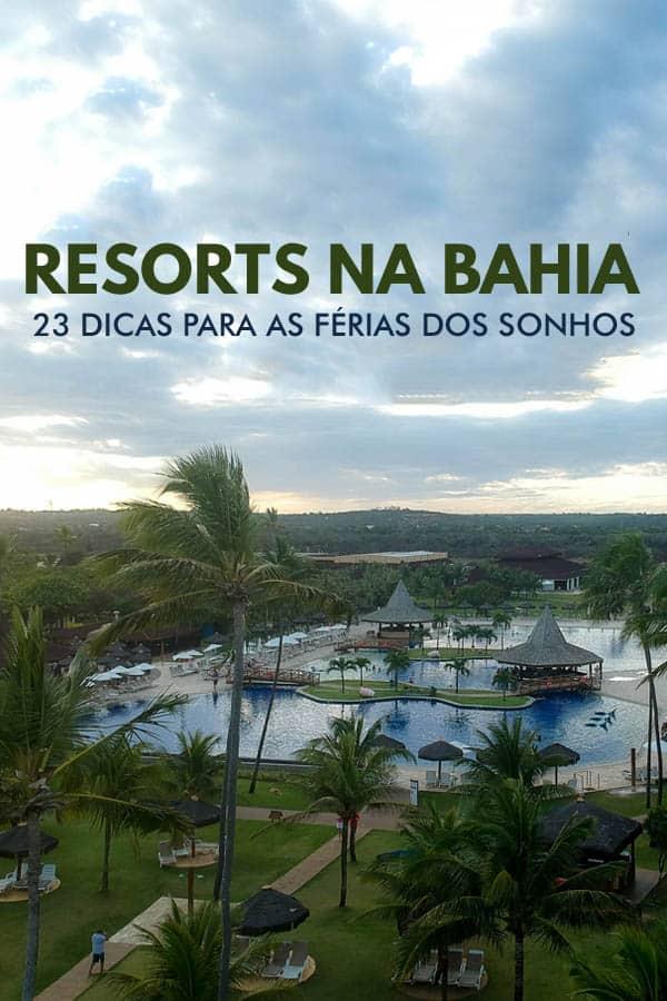 Confira essa lista com os melhores 21 resorts na Bahia (por todo litoral baiano) para passar as férias na praia dos seus sonhos.
