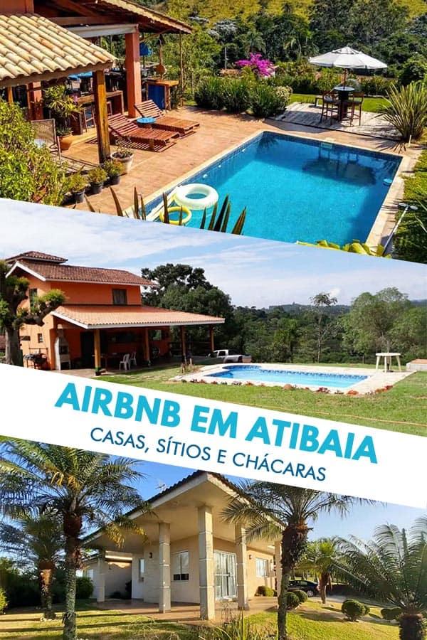 Confira essa curadoria especialíssima com 9 belas e espaçosas propriedades disponíveis para aluguel no site do Airbnb em Atibaia, a menos de 100km de SP.