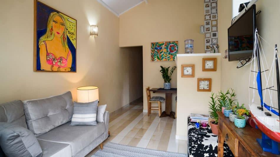 Casa para aluguel no site do Airbnb em Ilhabela no Centro Histórico