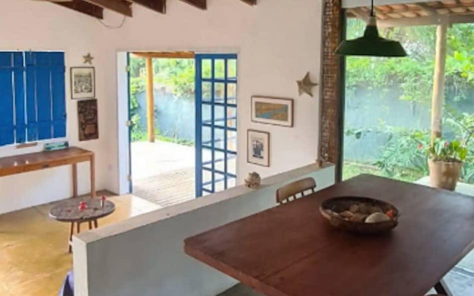 Casa pequena para alugar no Airbnb em Ilhabela