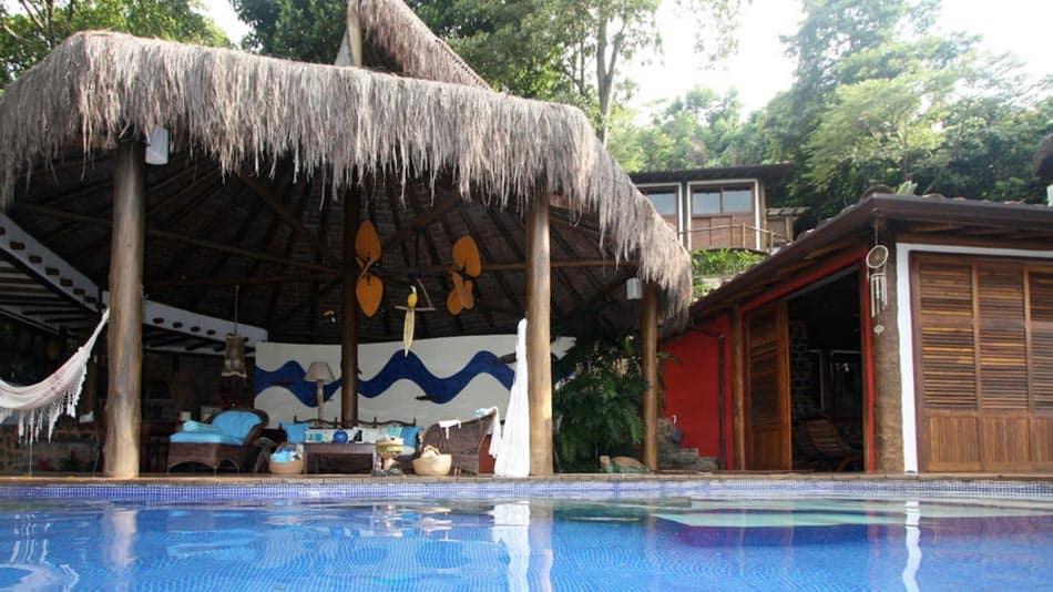 Casa para alugar no Airbnb em Ilhabela, na praia do Jabaquara