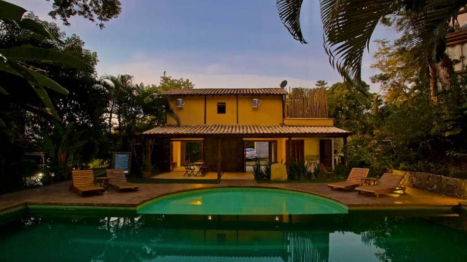 Casa para alugar no Airbnb em Ilhabela, na Praia Grange