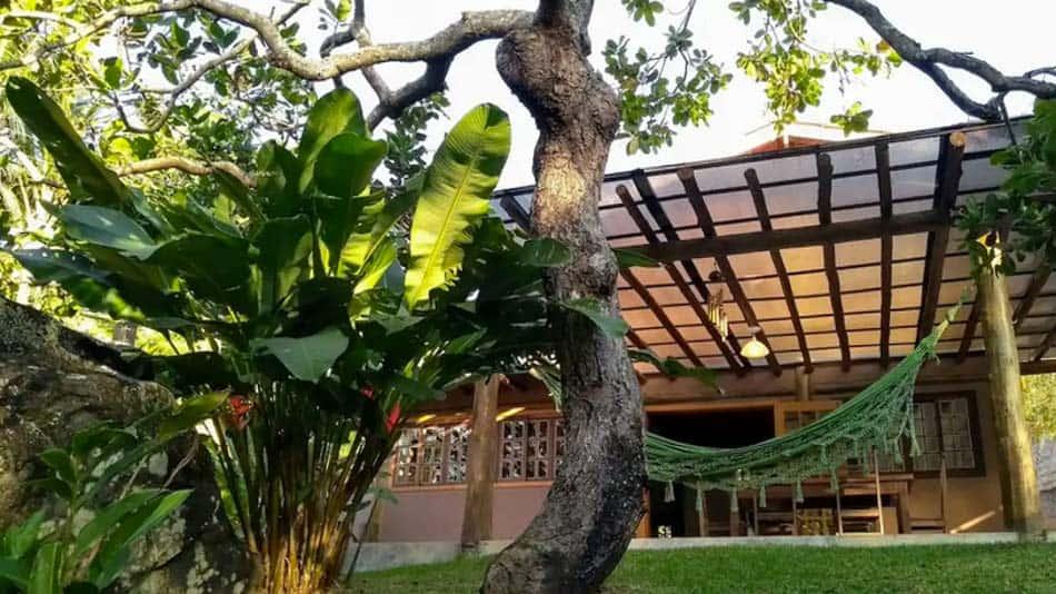 Casa para alugar no Airbnb em Ilhabela na Praia Grande