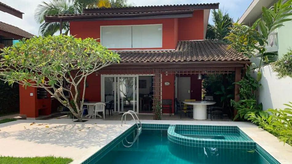 Casa ampla para aluguel no Airbnb em Juquehy