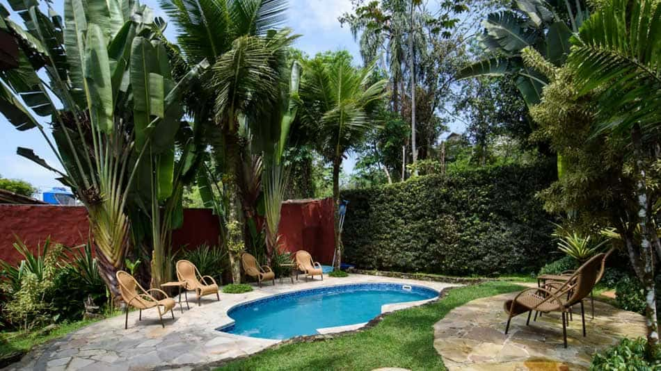 Casa esmeralda, disponível para aluguel no Airbnb em Juquehy