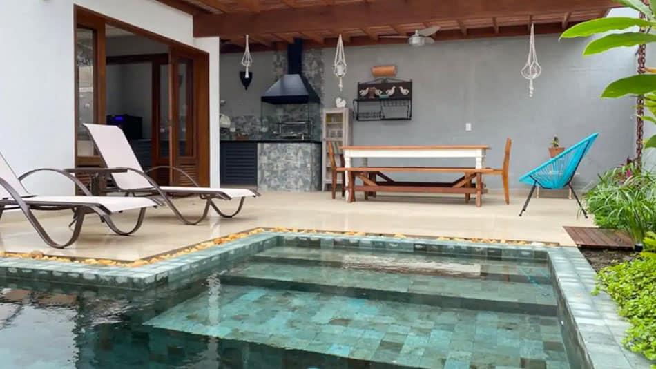 Casa perto da praia disponível para aluguel no Airbnb em Juquehy