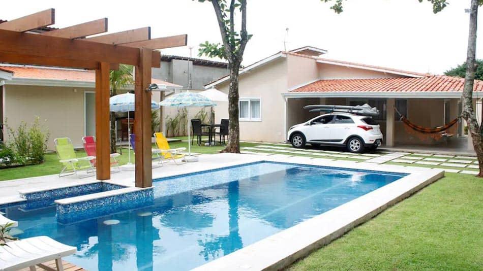 Airbnb em Juquehy: casa com piscina e churrasqueira