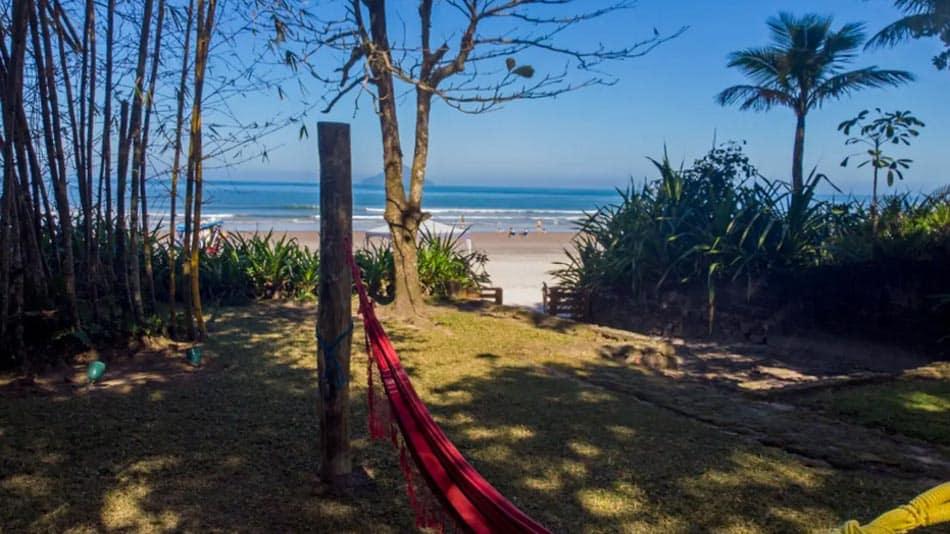 Casa pé na areia para alugar no Airbnb em Juquehy