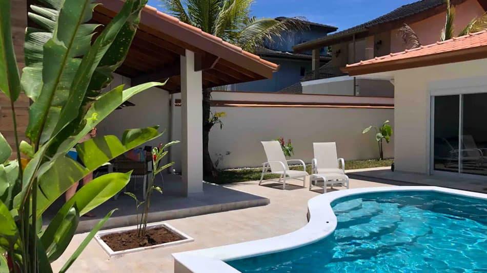Casa com piscina para alugar no Airbnb em Juquehy