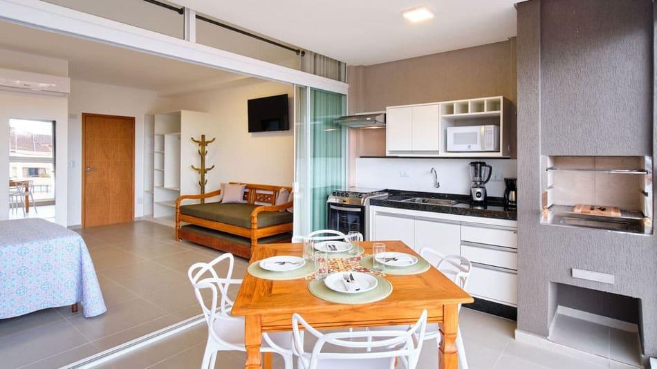 Apartamento para alugar no Airbnb em Ubatuba em Itaguá