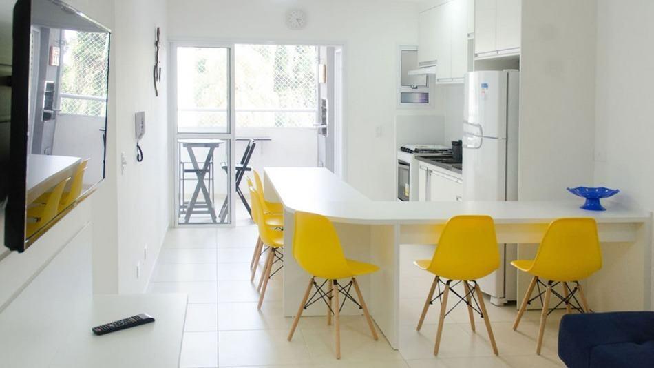 Apartamento para alugar no Airbnb em Ubatuba no Perequê-Açu