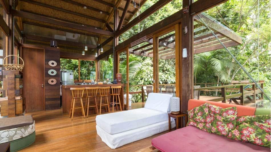 Casa na árvore para alugar no Airbnb em Ubatuba