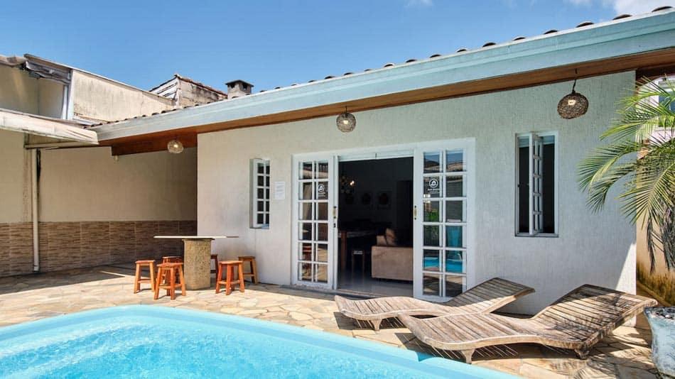 Casa para alugar no Airbnb em Ubatuba em Itaguá