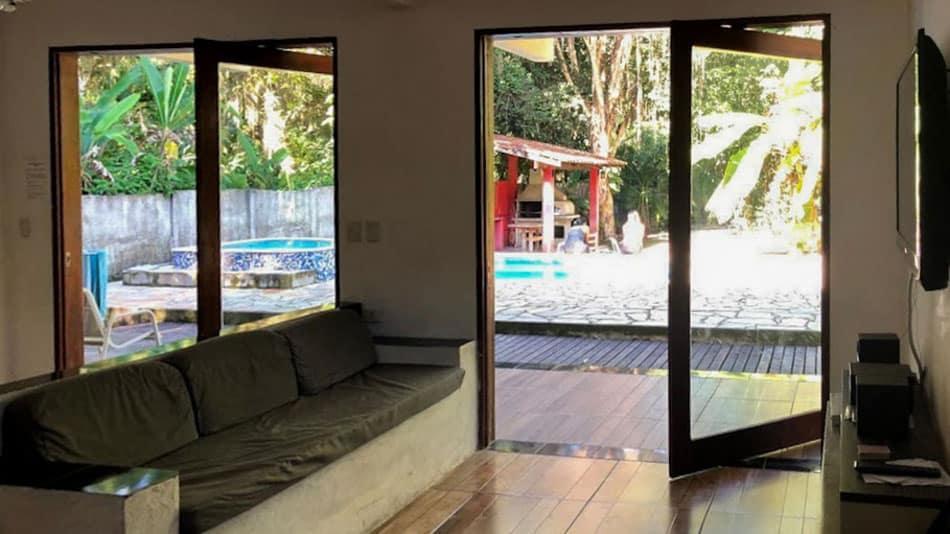 Casa para alugar no Airbnb em Ubatuba no Perequê-Mirim