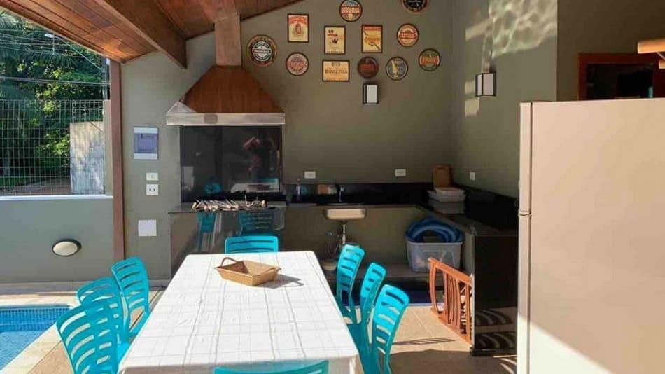 Casa para alugar no Airbnb em Ubatuba na Praia do Lázaro