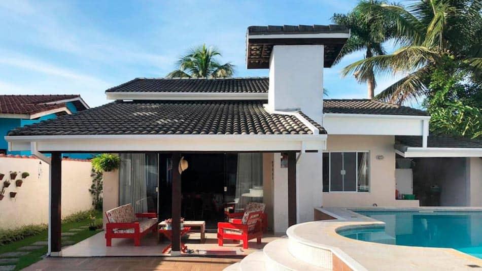 Casa para alugar no Airbnb em Ubatuba Lagoinha