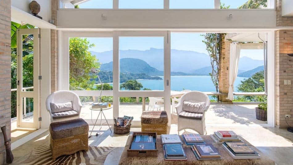 Casa incrível para alugar no Airbnb em Ubatuba na Praia Vermelha do Sul