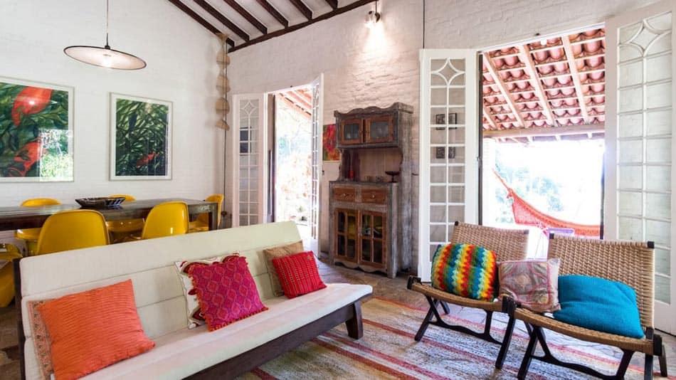 Casa para alugar no Airbnb em Ubatuba na Praia Vermelha do Sul