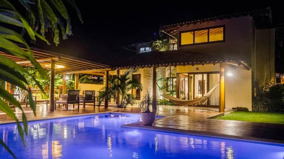 Casa para alugar no Airbnb em Trancoso, na Bahia