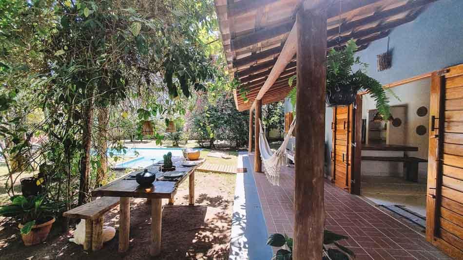 Casa charmosa para alugar no Airbnb em Trancoso, Bahia