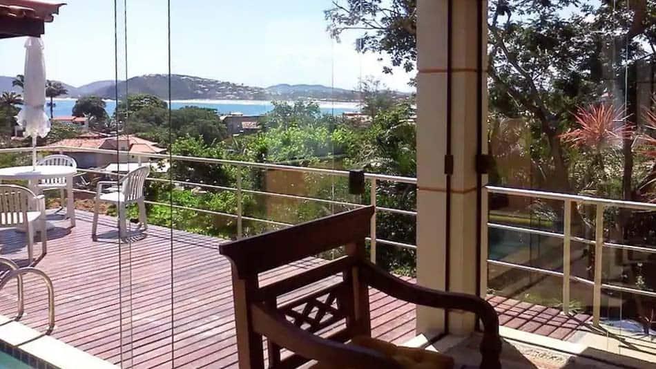 Casa com vista para o mar em Geriba para aluguel no Airbnb em Buzios