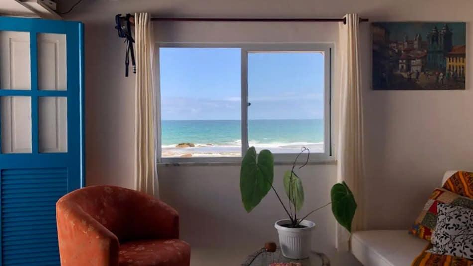 Apartamento para alugar no Airbnb no litoral norte da Bahia
