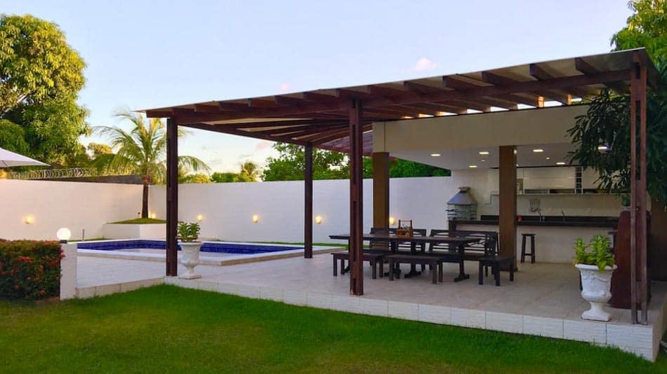 Bela casa para alugar no Airbnb em Barra de Jacuipe