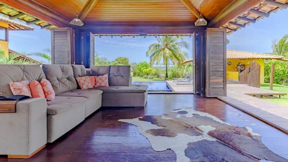 Casa para aluguel no Airbnb na Costa do Sauipe